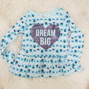 NWOT 'Dream Big' 3T Garanimals Shirt